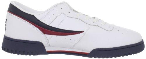 Fila , Herren Sneaker mehrfarbig mehrfarbig Weiß/Marineblau/Rot