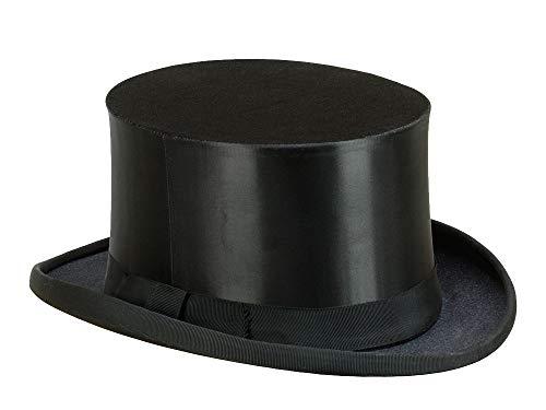 Chapeau Claque Faltzylinder Klappzylinder - schwarz 58