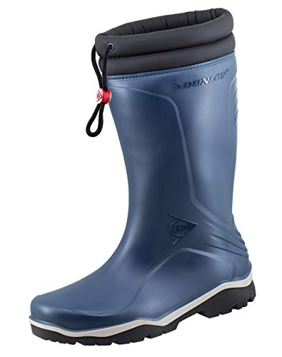 Dunlop Protective Footwear Blizzard-X Unisex Adult Cold Insulating Wellies Including 100% Cotton Dust Bag