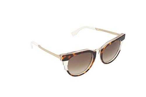 Fendi - occhiali da sole ff 0063/s cc occhi di gatto, donna, muv