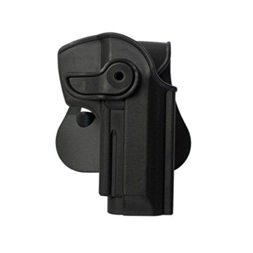IMI Defense Z1250 Tactical verstellbar drehbar drehung Pistole holster für Beretta 92, Llama 82 & Cheetah FS 85, Yavuz-16 verdeckte Trage POLYMER Taktik ROTO Pistolenhalfter -
