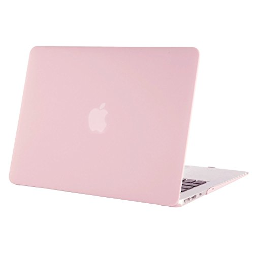 ibel MacBook Air 11 Zoll - Ultra Slim Hochwertige Plastik Hartschale Schutzhülle Snap Case Kompatibel MacBook Air 11 (A1370 / A1465), Rosenquarz ()