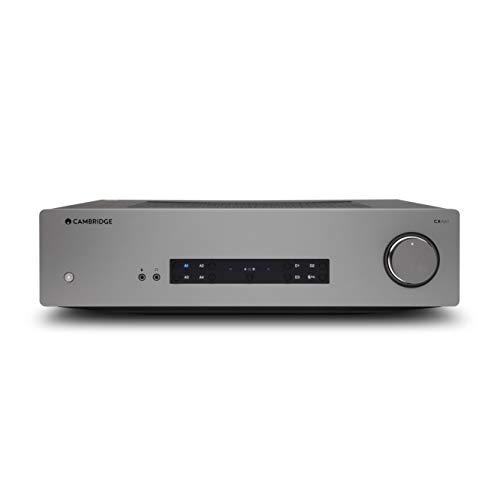 Cambridge Audio CXA61 60 Watt Integrated Stereo Amplifier, aptX HD Bluetooth, Digital...