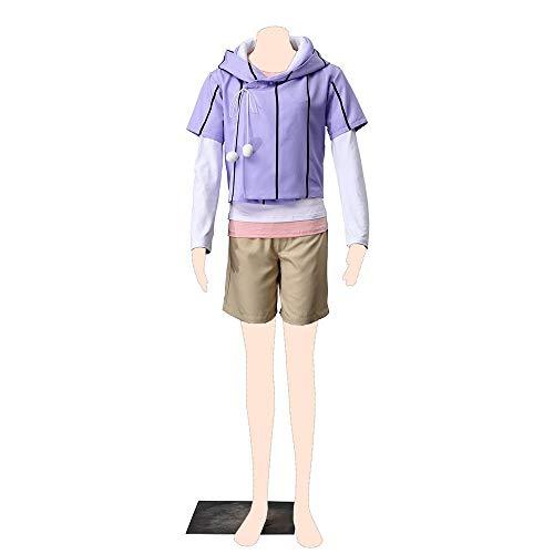 Dream2Reality Naruto Cosplay Kostuem Hinata Hyuga Cloth Medium (Hinata Hyuga Cosplay Kostüm)