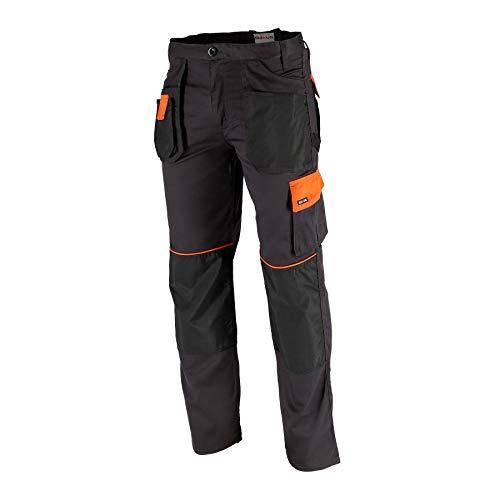 Krexus Pantaloni da Lavoro Uomo Arancio/Grafite Taglia S