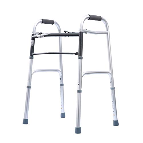 Zfggd Walker Walking Aids Cane Chair Ancianos reposabrazos Cuatro pies
