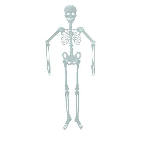 happy event Halloween Requisiten Leuchtende Menschliche Skelett Hängende Dekoration Für Party Im Freien (B - 90cm) (Cupcake Puppe Kostüm)