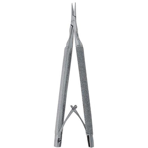 Comdent 13-444-STR Nadelhalter, Castroviejo, runder Griff, gerade, 13 cm