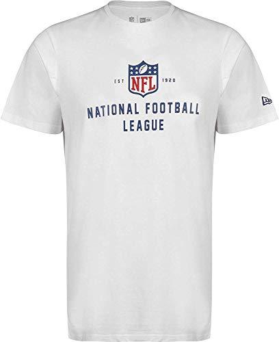 A NEW ERA Herren NFL League Established Tee Nflgen Unterhemd, weiß, XL
