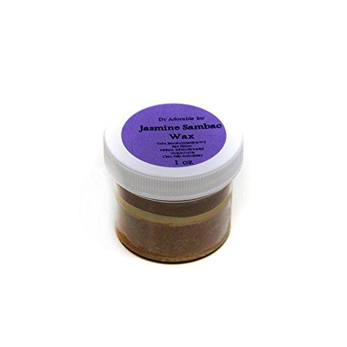 Jasmine Sambac Floral Wax 100% Pure 1oz