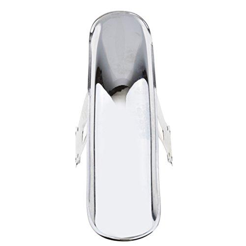 Sharplace 1 x Vorderkotflügel Universal Für Honda Motorräder Motorrad Ersatz Zubehör - Chrom