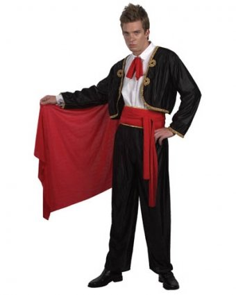 Imagen de value  disfraz de torero para hombre, talla única u37 341