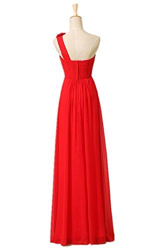 Lemandy Robe de soirée empire Rouge