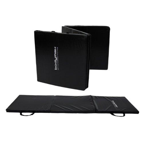 NEW Bodymax Tri-Fold Exercise Mat 180x60x3cm - Black