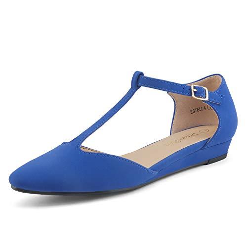 Dream Pairs Estella Zapatos Planos Bailarina Mujer