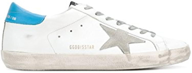 Golden Goose Hombre G32MS590E84 Blanco Cuero Zapatillas  -