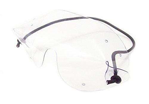 Flexvision Brillenträger OTG Fallschirmspringer Sport Schutzbrille, transparent