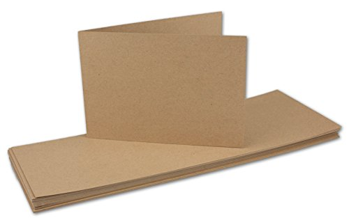 DIN A6 Petrol 10 Stück Seidig schimmernd Faltkarte Doppelkarte