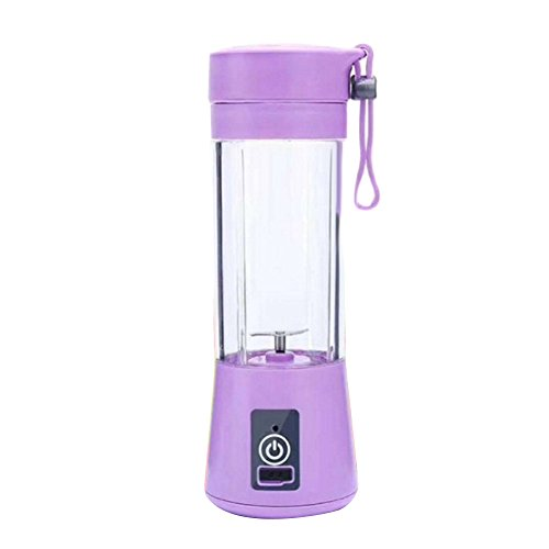 Ferrell Rechargeable Portable USB Rechargeable Electric Fruit Juicer Maker Cup Bottle Mini Mixer (Blender-cup Mini)