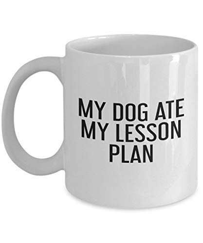 My Dog Ate My Lesson Plan Mug