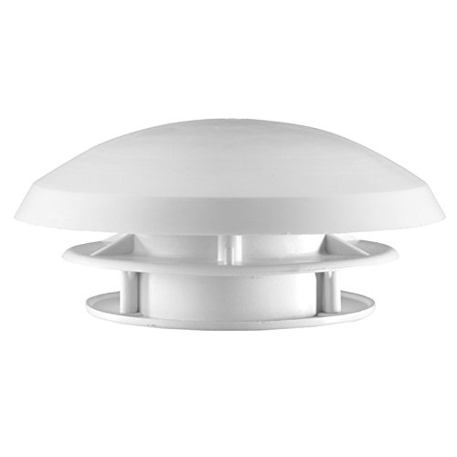 Preisvergleich Produktbild Dachlüfter Wohnmobil 20 cm weiß Dachstärke 20-45 mm Bohrung 90 mm Insektengitter