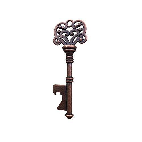 Vektenxi Antike Schlüssel Formte Wein Bier Flaschenöffner Bar Tool Party Hochzeit Geschenk Keychain Bronze Hohe Qualität -