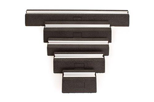 2 Stück Dämpfungssockel Set inkl. Schraubensatz Länge 600 mm -