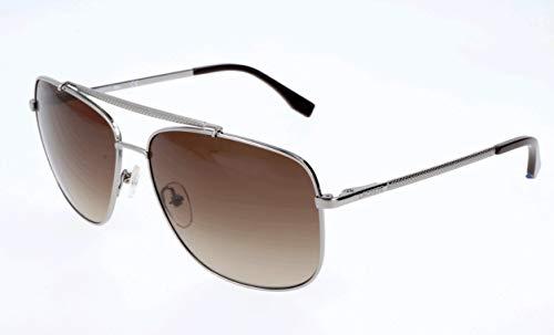 Lacoste Herren L188S 035 59 Sonnenbrille, Light Gunmetal,