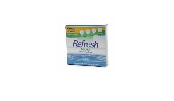 Buy Refresh Tears Lubricant Eye Drops - 4x15mL bottles