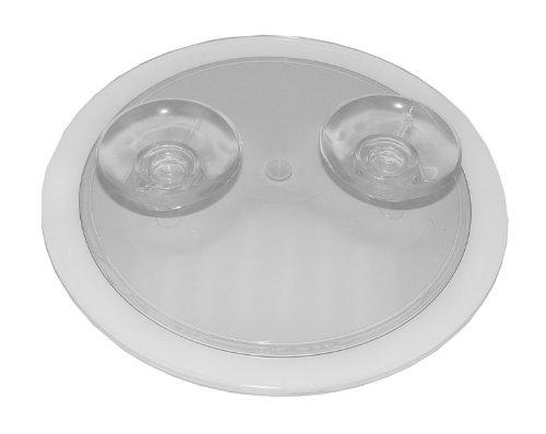 comprare on line Fantasia - Specchio ingrandente 10x, con ventosa, acrilico, ø 15 cm prezzo