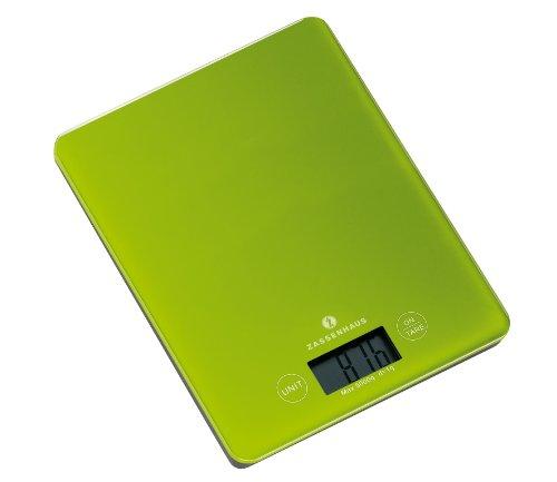 Zassenhaus 73225 Digital-Waage Balance grün Digital Balance