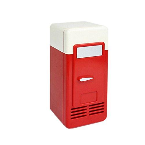 LEORX Portable Mini USB Kühlschrank Kühlschrank Eisschrank USB können Kühler