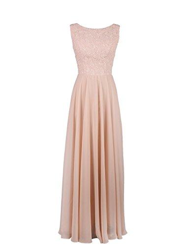 Dresstells, robe de cérémonie, robe longue de demoiselle d'honneur Menthe