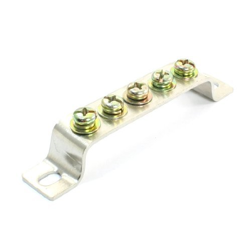 Brückenbau 5 Position Klemmenblock Bar Elektro-Kabel-Anschluss