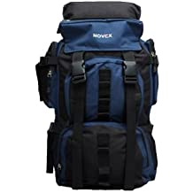 Novex Classy Rucksack Blue and Black Hiking Bag