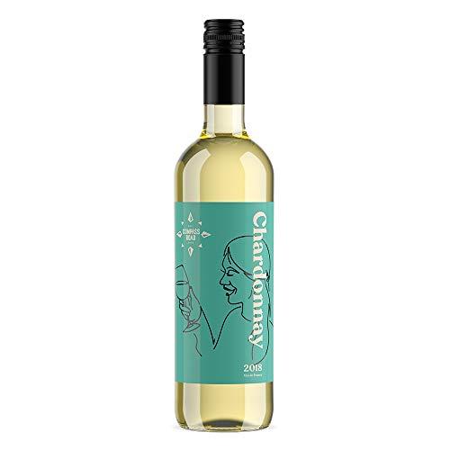 Marchio Amazon - Compass Road vino francese Chardonnay - 6 bottiglie da 75 cl