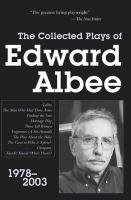 Collected Plays of Edward Albee: 1978-2003