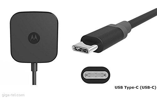 3ac2e13644e Motorola cargador Turbo Power 15, 15W, USB-tipo C, Negro