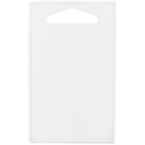 Promobo - Planche à decouper Plateau Repose Plat Presentation Apéro Blanc