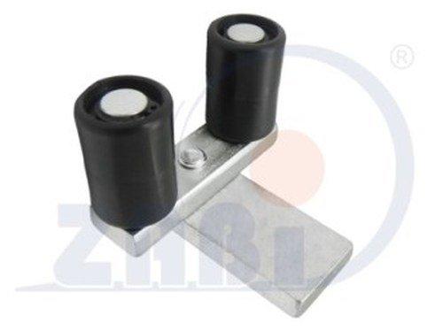 ZAB-S Vertikalführungsrolle (Code:RB-25P/2) Kunststoff-Führungsrolle für Schiebetore (RB-25P/2)