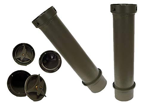 Unbekannt 2 Stück Bundeswehr Munitionsbox DM42 gebraucht 83 x 20,5 Werkzeugkiste 17,48€/Stück