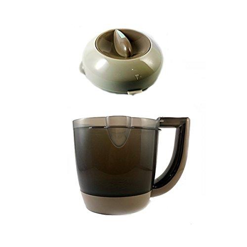 Repuesto Oficial de Beaba para Babycook Original y Original Plus: jarra y tapa
