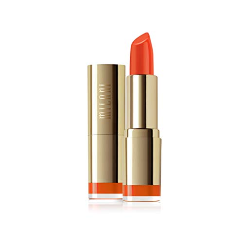 True Color Lippenstift (Milani Color Statement Lipstick - orange-Gina, 1er Pack 3.97 g)