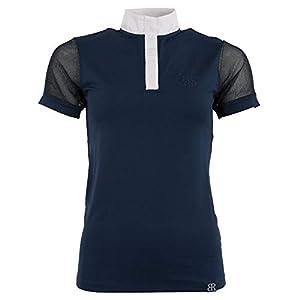 BR Damen Turniershirt Amelia, kurzärmlig, Pants Blue