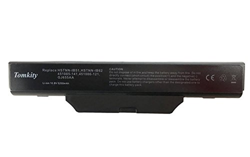 Tomkity 5200mAh Batteria per laptop/notebook HP Compaq 615 6720s 6730s