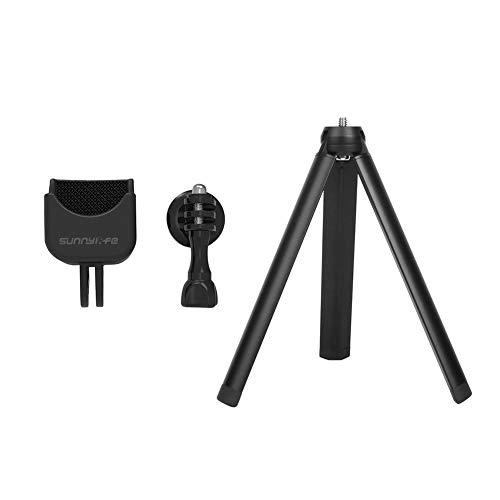 Poonkuos Fixiert Stativ Stand Faltbar Handheld Halter Halterung Support Mount mit 1/4 Schraube Adapter Kit für DJI Osmo Pokcet Pole Mount Adapter Kit