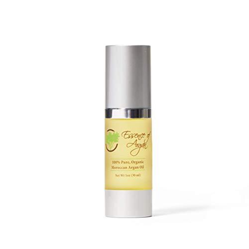 Huile d'argan marocaine pure pour la peau et les cheveux par essence d'argan 30 ml (1 oz)