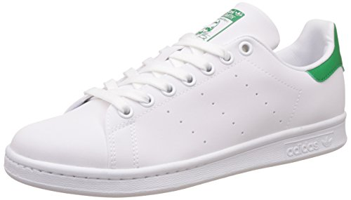 adidas Stan Smith W, Scarpe da Tennis Donna Bianco (Ftwwht/ftwwht/green)