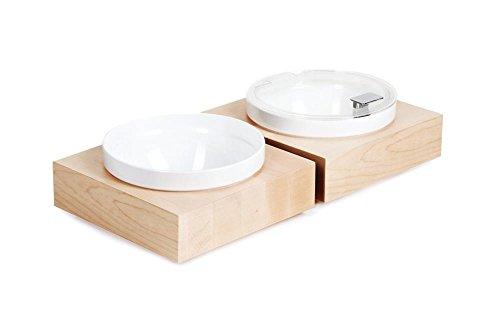 APS Cadres gc921 Boîte Buffet Bol carré en bois d'érable, grand