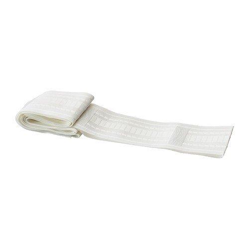 IKEA KRONILL Tunnelband in weiß; reicht für 2 Gardinenschals; (8,5x310cm)